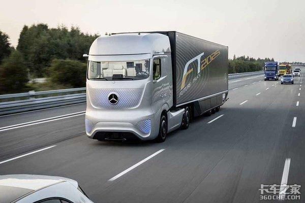 奔驰未来卡车2025