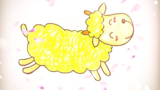 羊怎么画简笔画小羊