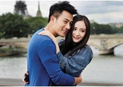 刘恺威和杨幂的合影照