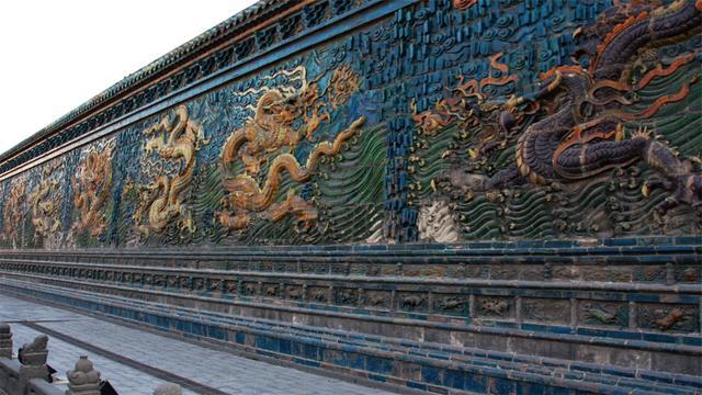 石柱雕花图案