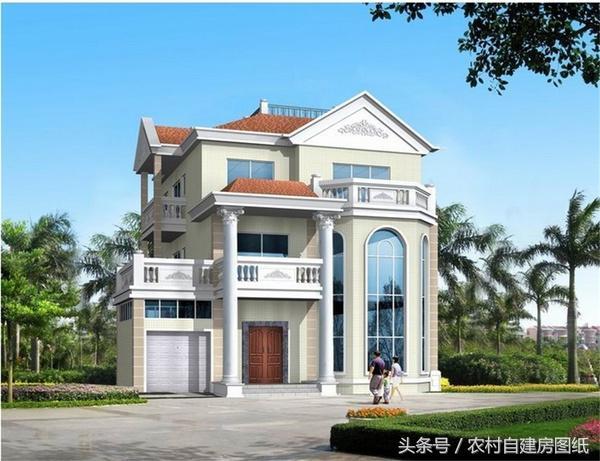56款农村别墅效果图,最全别墅户型,再也不怕建出来的房子不好看