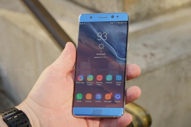 三星Note7不愧为最美三星手机,这颜值S8也只能叫他大哥