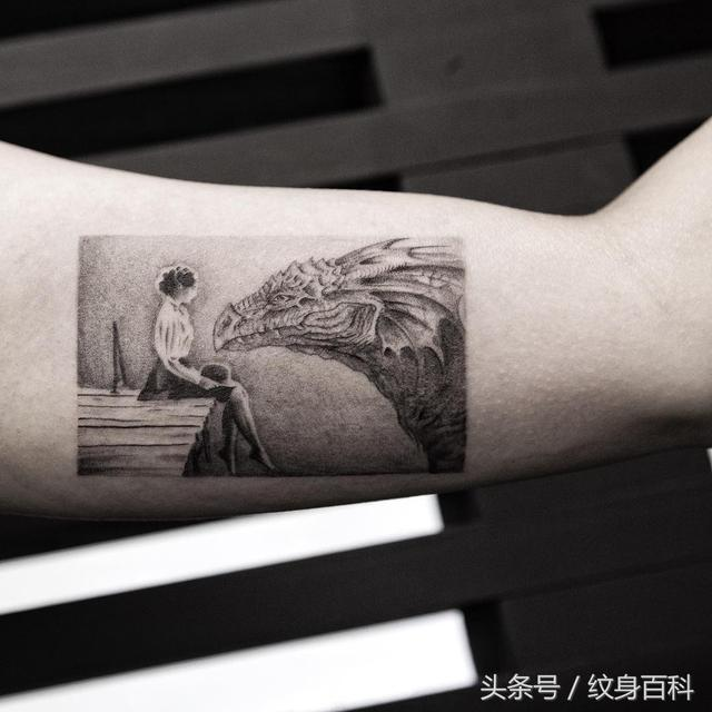 岳恒纹身作品100万以上的作品