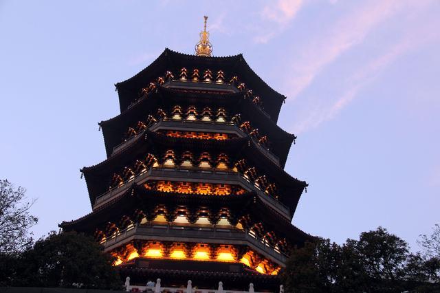 杭州西湖的风景图片大全_风景图片_三联