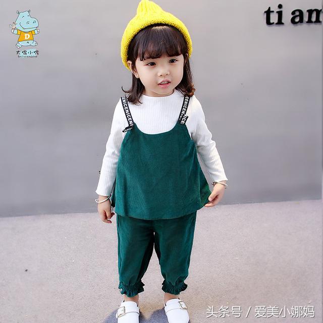 韩版夏季儿童休闲套装中大童女童棉麻蝙蝠衫中袖衬衫半身裙两件套