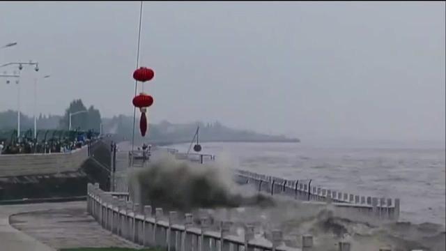 2017年八月十八钱塘江大潮视频回头潮震撼场面
