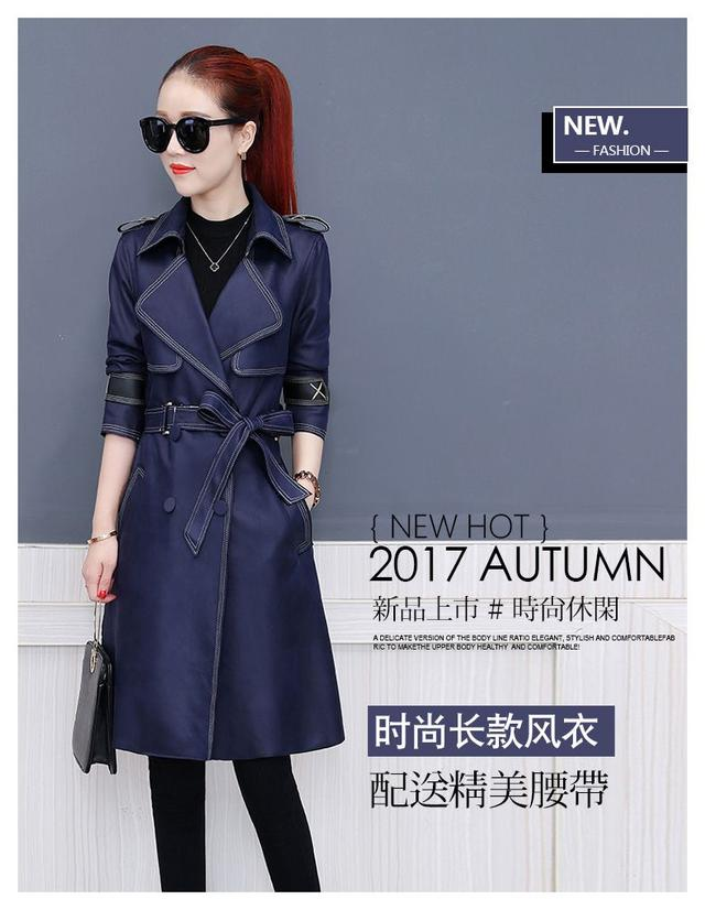 2018最新款春秋季韩版风衣外套,随意搭配都很好看!