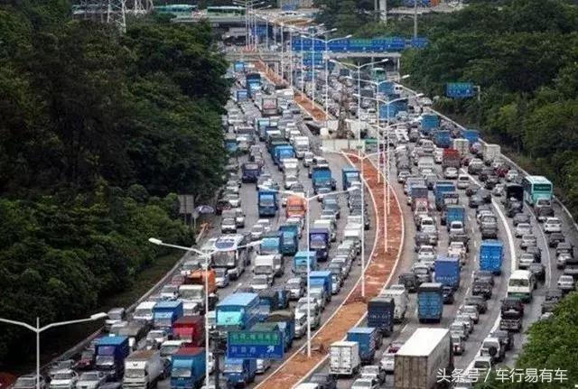 中国汽车保有量超过300万的六座城市,北京第一,上海第四!