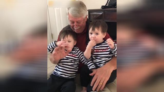 史上最可爱的混血双胞胎,说着川味英语,逗坏一家人!