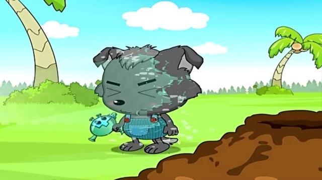 真人版喜羊羊与灰太狼:小灰灰精髓满分,懒洋洋性别... _新浪看点