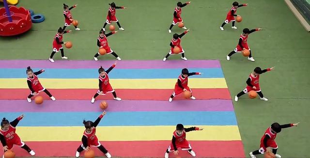 幼儿园篮球舞蹈开场舞