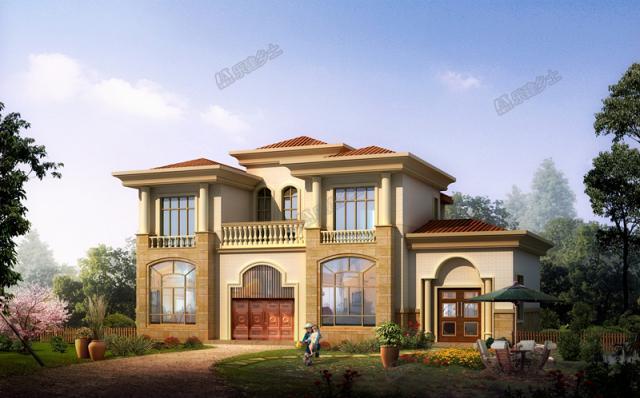 全球别墅欣赏系列11,精品欧洲风格自建别墅,建筑设计欣赏