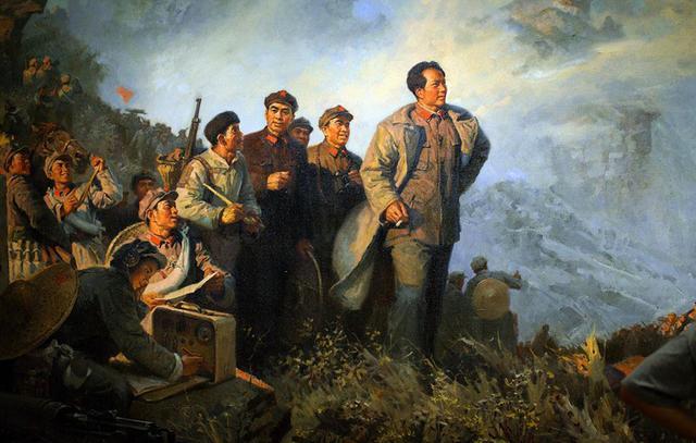 山之高,毛主席笔下的山,才是写的最绝的