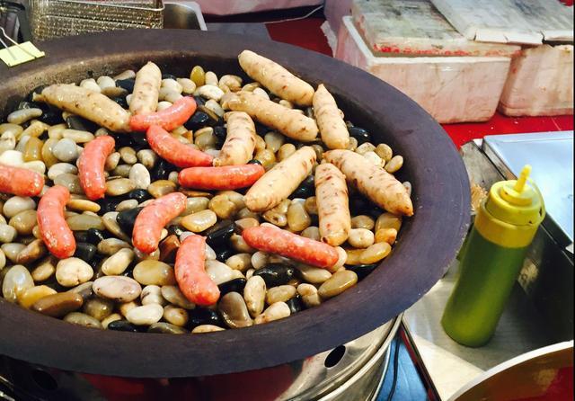 在咸阳的台湾美食节