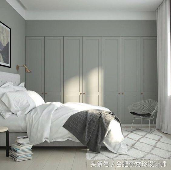 卧室墙做隔断?聪明人都把衣柜装进墙里了!美观不占地,超实用!