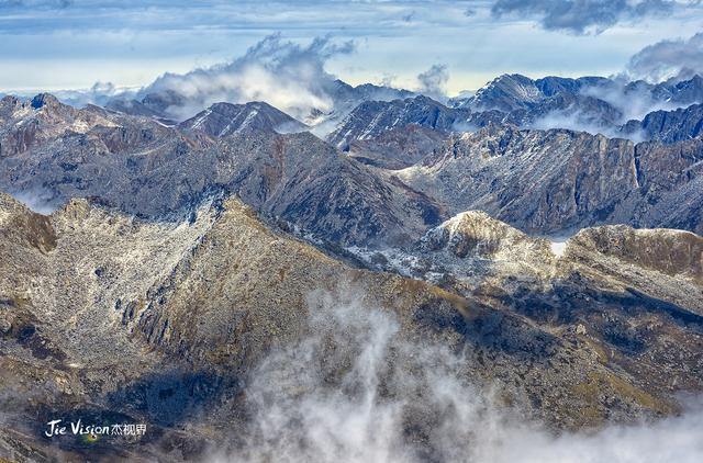 四川阿坝州黑水县:达古冰川风景区,这么美的景色太... _新浪看点