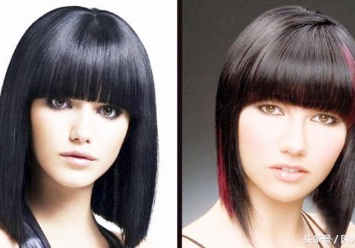 短发发型女圆脸图片