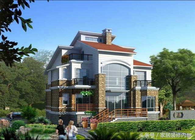 ...别墅设计图纸推荐三层小洋房设计图_农村自建房设计_新浪博客
