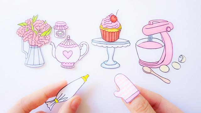 ...Cookies】如何制作心蛋糕装饰了我的爱如此美味... - 20191109