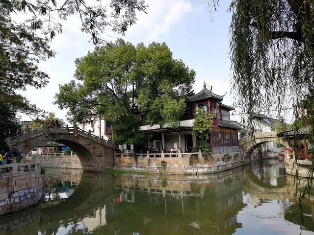 [古村镇系列]上海市枫泾古镇