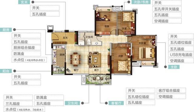 室内装修水电设计图纸