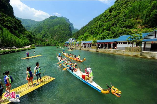"""湖北宜昌秭归县,被誉为""""中国脐橙之乡"""",有1个5A和2个4A景区"""