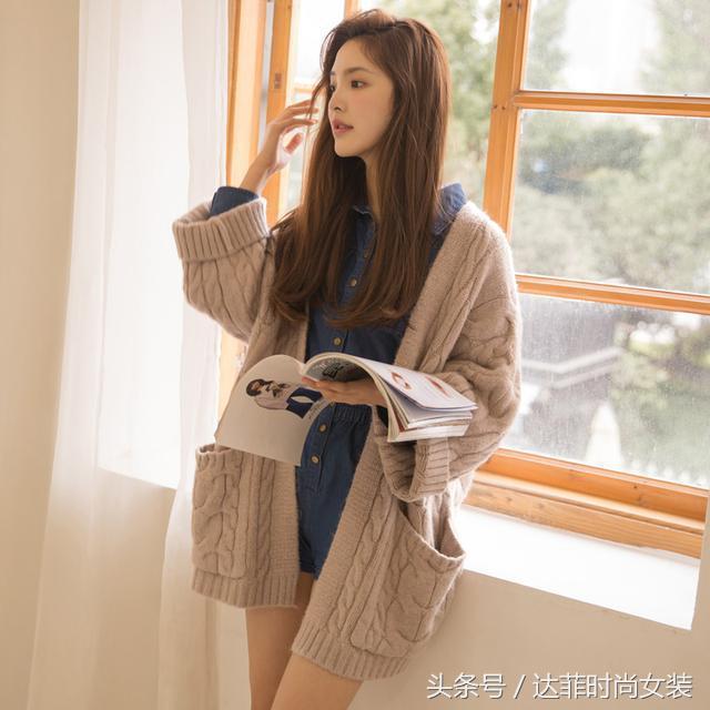 时髦好看的日常穿搭:小外套与衬衫、针织开衫的搭配,休闲又洋气