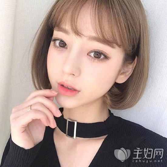 短发控看过来!9款韩式发型超有气质 - 爱秀美