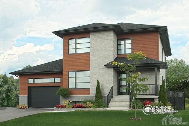 12米X10米120平米两层三大间自建房屋设计图参考含平面图