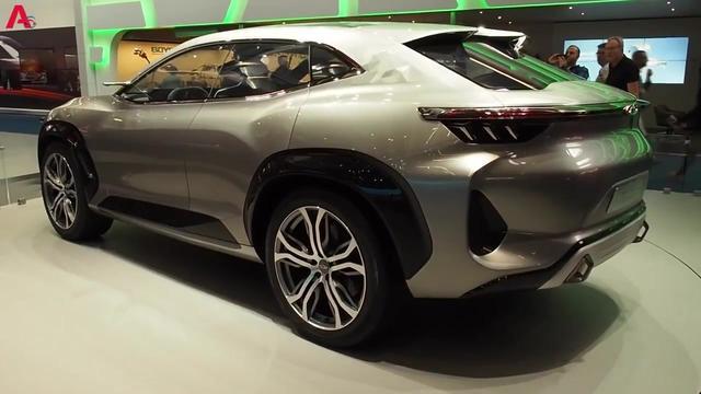 国产崛起 奇瑞全新轿跑概念车tiggo coupe concept