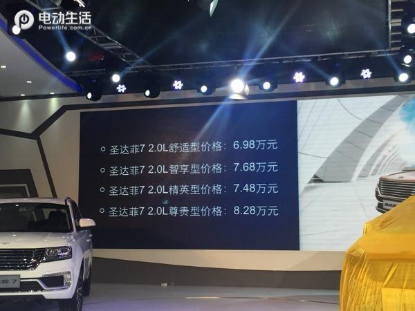 2017款圣达菲7 参数配置-华泰 圣达菲7动力系统、安... -网易汽车