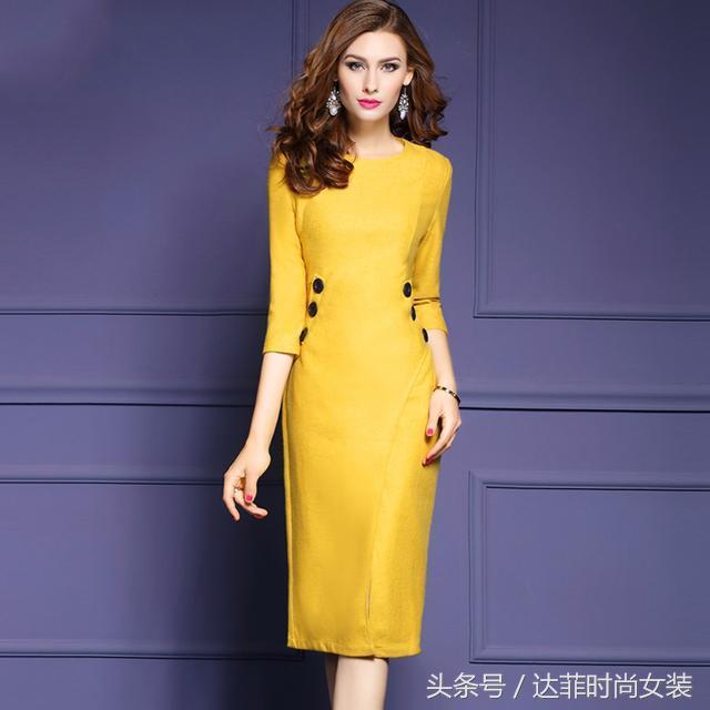 高档名牌连衣裙,礼服,减龄显气质