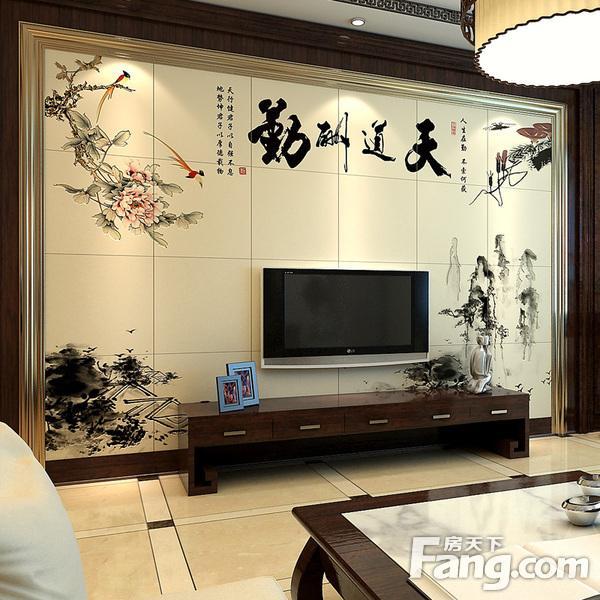 客厅瓷砖电视墙效果图精选 经典耐看不过时