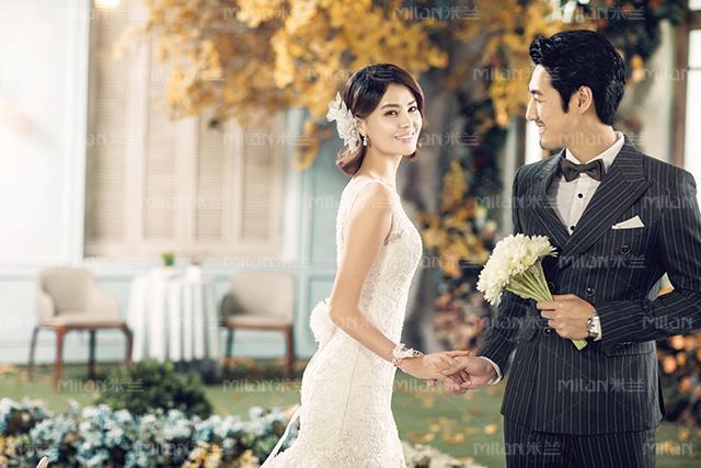 哈爾濱拍的婚紗照