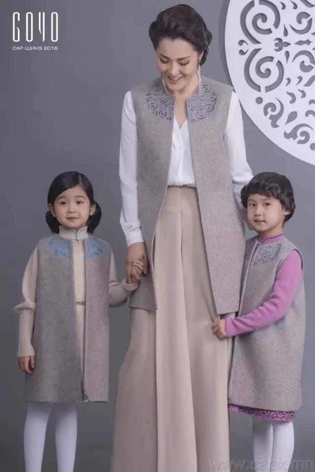 蒙古服饰女装图片