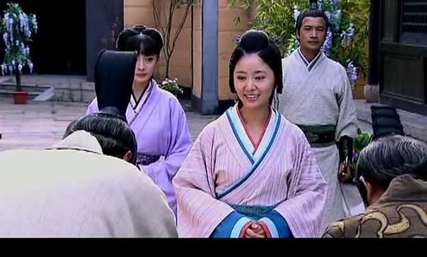 美人心计,窦漪房回汉宫偶遇故人,却不知那是云游在外的皇上