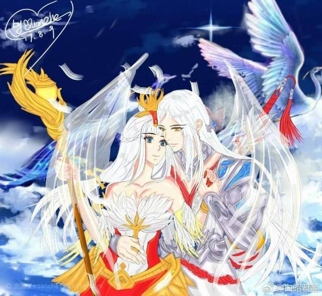 「王者荣耀同人」李白X王昭君,我想和另一个人去开始新的生活