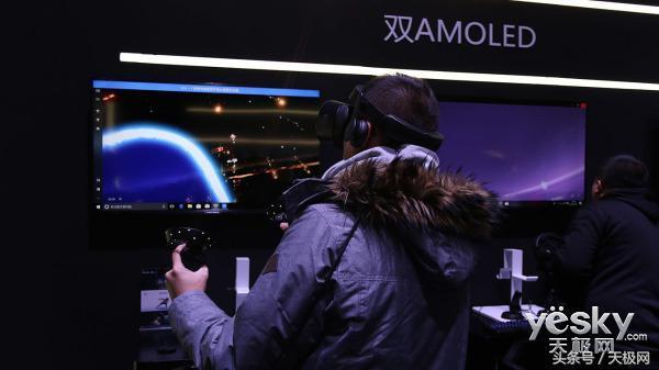 三星玄龙MR头显体验:一不留神把VR游戏玩通关了