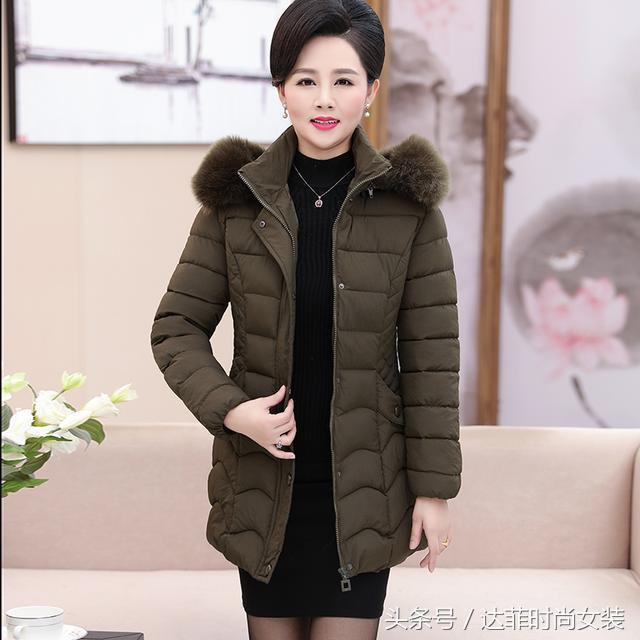 便宜又好看保暖的加厚棉衣外套,时尚显年轻,妈妈一口气买6件
