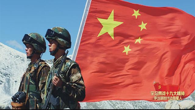 西藏军区岗巴边防营:请祖国放心 海拔4810有我!-新华网