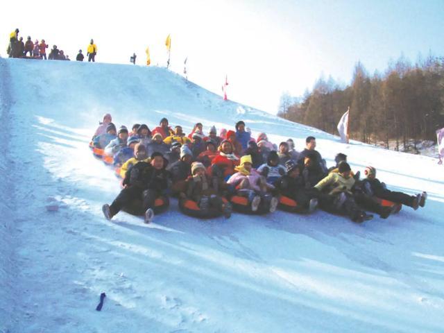 「图」鸣山绿洲滑雪场11月22日盛大开业,全天滑... -吉林市列表网