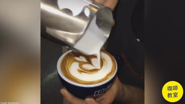 咖啡拉花的做法_咖啡拉花怎么做_美食杰
