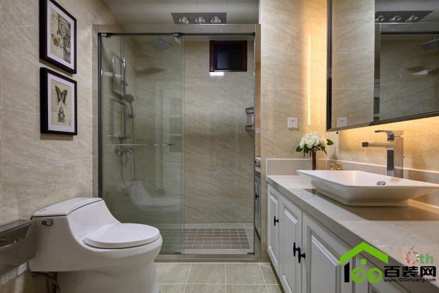 卫生间的面盆柜有哪些类型的?卫生间面盆柜如何安装效果