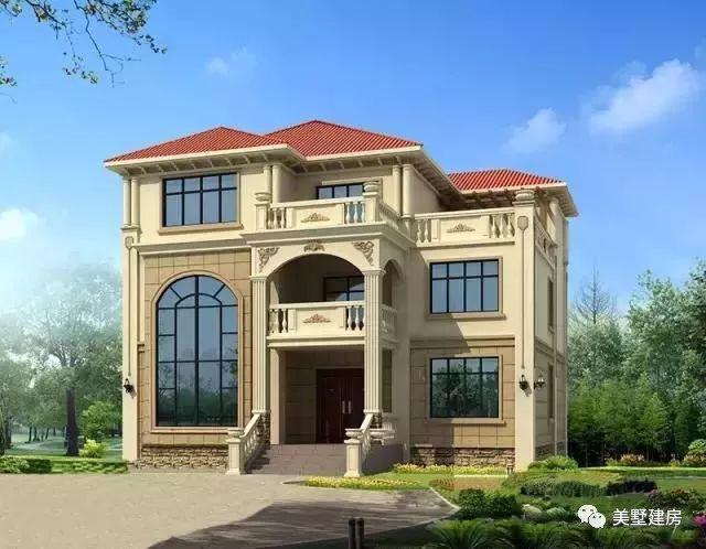 新农村的发展趋势,自建房想要花钱少效果好,就这样设计!