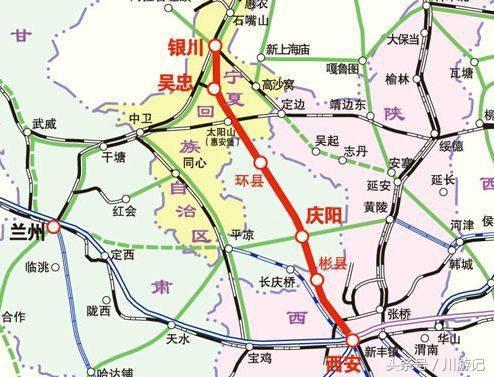 银川至西安正在修建一条高铁,投资805亿元,经过你家乡吗?