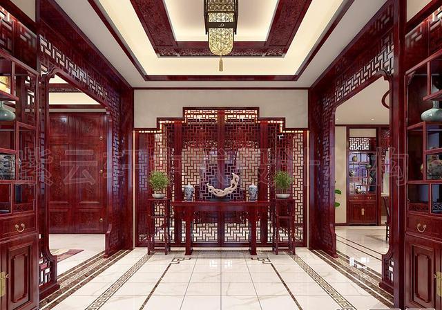 中国最美26款中式玄关设计效果图,你最钟爱哪一款?
