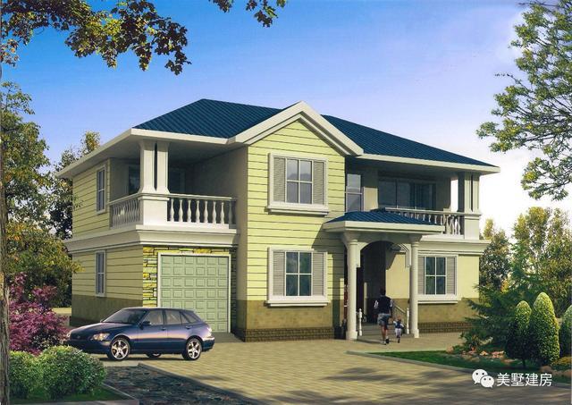 建房福利,造价低且外观豪华大气的农村自建房,你见过吗?