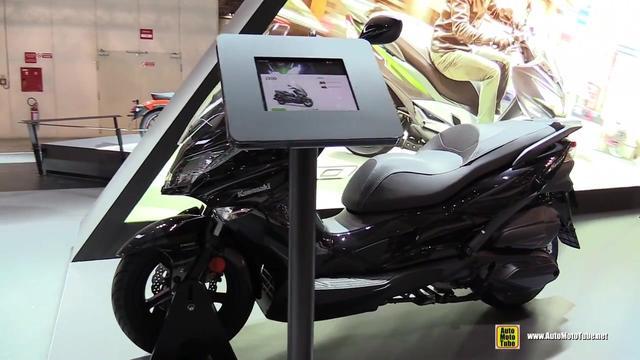 川崎首款125cc踏板J125 或将进入中国市场_踏板摩托车... _摩信网