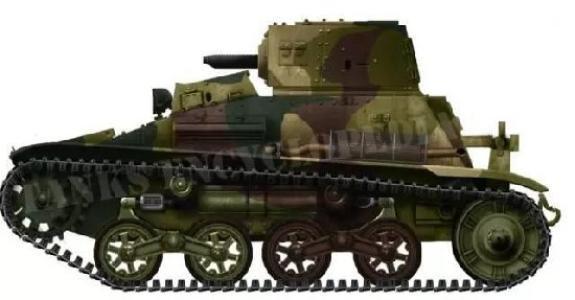 不堪一击,94式小豆坦克,为何能在抗战期间横行多年