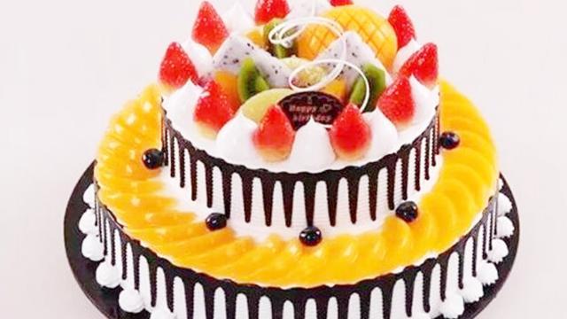 水果蛋糕一步一步教你做,學會了就可以做出美麗又好吃的生日蛋糕